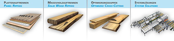 Paul - Panel Processing, Solid Wood Processing, Optimized Cross-Cutting, Handling Systems